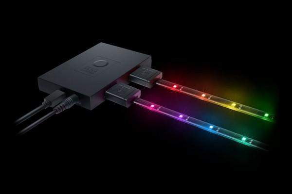 Razer推出可擴充的LED光條,打造超瞎趴電競室不是夢。(圖/翻攝自官網)