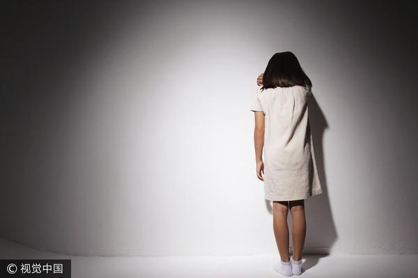 ▲兒少,兒童福利,小女孩,兒童哭泣。(圖/視覺中國CFP)