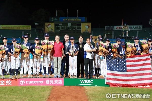 ▲2017第四屆WBSC世界盃少棒錦標賽於中華對美國比賽結束後,完美落幕。(圖/市府提供)