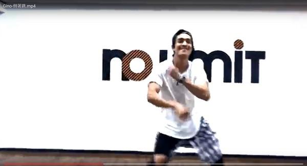 Gino向羅志祥致敬,「Locking倒著跳」超狂。(圖/翻攝自Gino臉書)