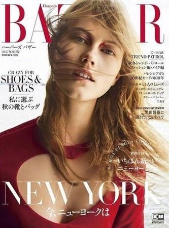 ▲▼大陸、日本9月雜誌封面。(圖/翻攝自微博)