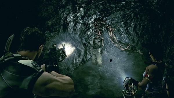 被大部分玩家認為已經喪失恐怖感的《惡靈古堡5》。(圖片來源:官方網站)