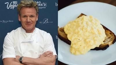 戈登果然神!男實測「五大炒蛋食譜」 結果地獄廚神最好吃