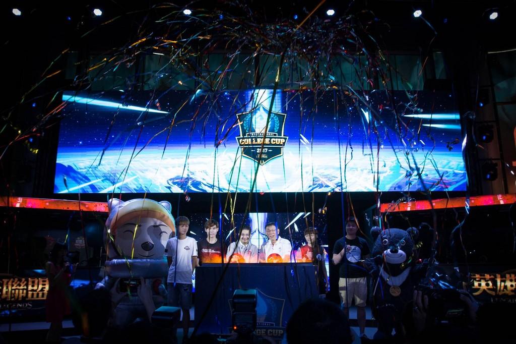 世大運照亮《英雄聯盟》世界大學邀請賽(圖/Garena 提供)