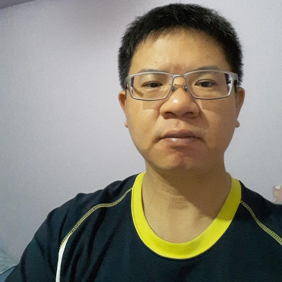 殉職的國道警察陳啟瑞。(圖/翻攝臉書)