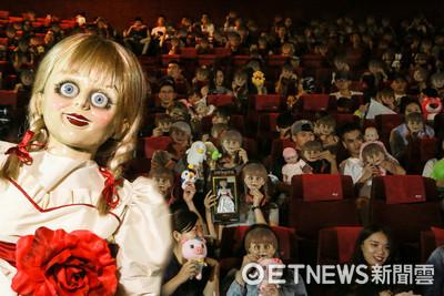 安娜貝爾來台最驚悚見面會 粉絲們帶著私藏娃娃一起看電影