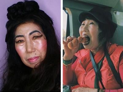鏡頭前碎念挖鼻孔!70歲嬤無厘頭教仿妝 粉絲就愛她放超開