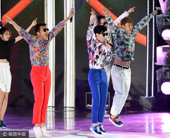 ▲2015年《無限挑戰歌謠祭》。(圖/CFP)