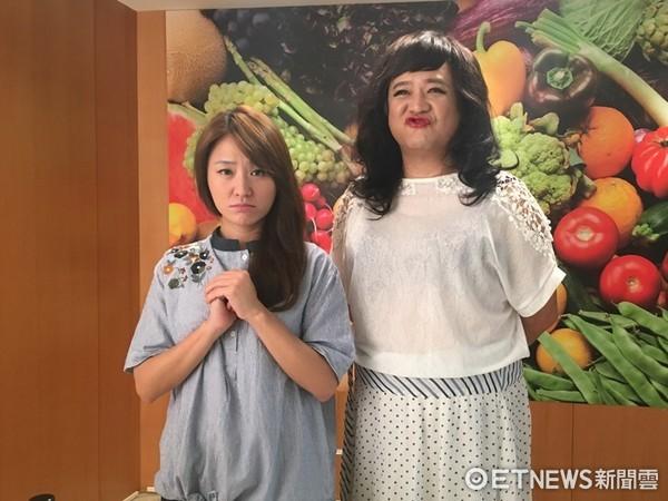 ▲瞿友寧扮女裝是海裕芬MV中的亮點。(圖/海芬工作室)