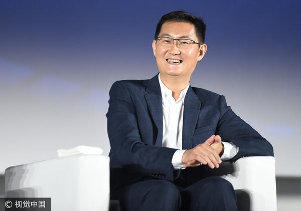 ▲腾讯董事会主席马化腾。(图/视觉中国CFP)
