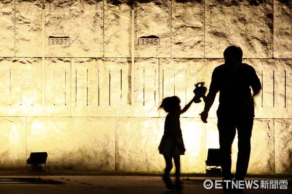 幼童,親子,兒童安全(圖/記者周宸亘攝)