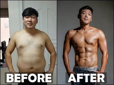 狂操23周!肥肚大叔減22公斤帥成韓星 卻被酸整形