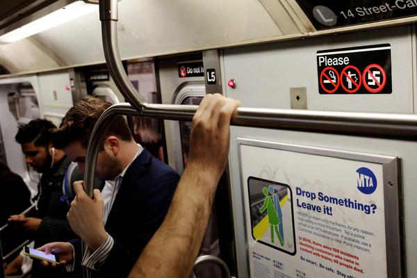 ▲▼ 美國紐約地鐵。(示意圖/路透社)