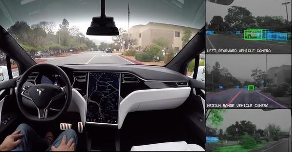 一張貼紙就成自動駕駛的「死當」殺手 美國學者發出警訊(圖/翻攝自Tesla)