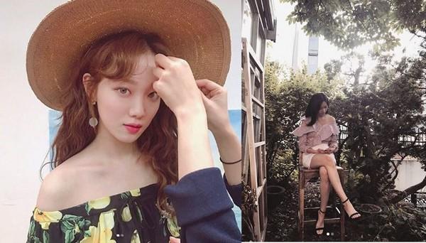 ▲韓星都穿這件露心機。(圖/翻攝自instagram)