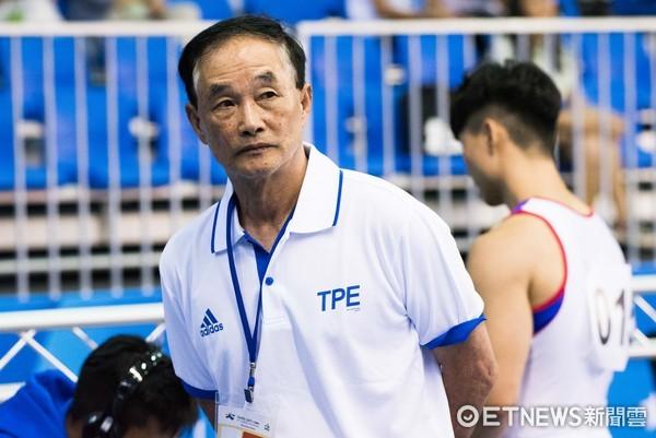 ▲▼世大運競技體操測試賽,浜田貞雄教練。(圖/記者季相儒攝)
