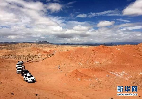 ▲▼中國首座火星類比基地落戶青海。(圖/翻攝自新華社)