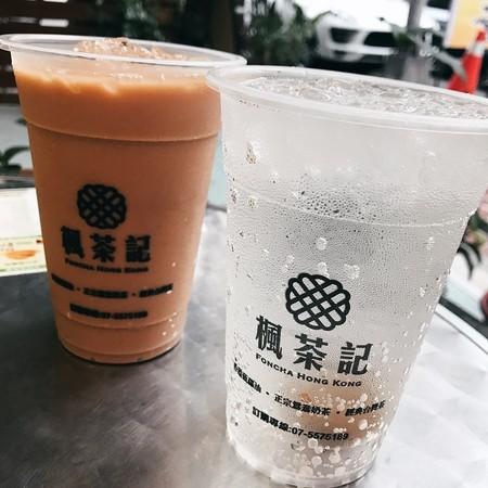 楓茶記—冰火菠蘿油。(圖/網友ig iamirenesu 提供,請勿任意翻攝,以免侵權。)