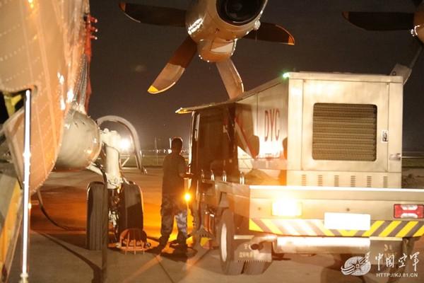 ▲▼解放軍4架運-9赴九寨溝抗震救災。(圖/翻攝自《中國空軍網》)