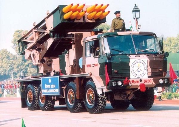 ▲▼印度皮納卡(Pinaka)火箭炮。(圖/翻攝自印度國防部官網)
