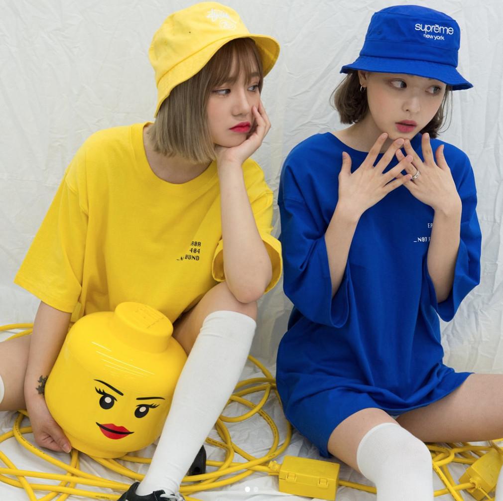 ▲韓妞閨蜜穿搭 。(圖/翻攝mixxmix_seoul IG)
