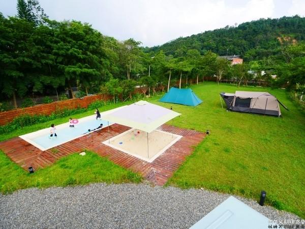▲森林蜂味親子露營地(圖/何師父提供)