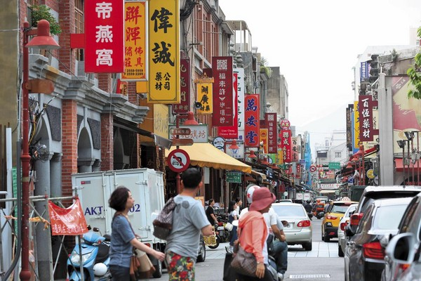 大稻埕商圈早年是台北重要市集,阿土伯也在此發跡賺到第1桶金。