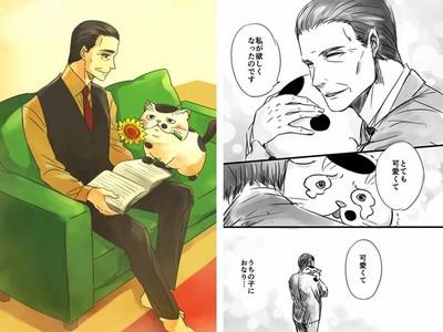 喪妻後的生活有隻貓❤催淚漫畫《大叔與貓》推特瘋傳