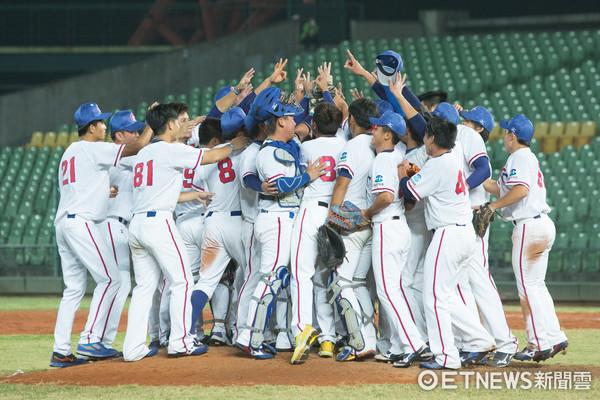 亞洲棒球錦標賽中華VS日本。中華隊(圖/記者季相儒攝)