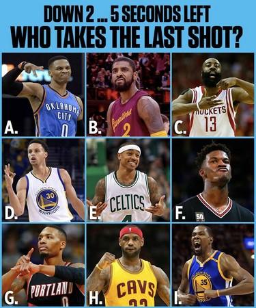 ▲ESPN提出9位絕殺人選。(圖/翻攝自NBA on ESPN臉書)