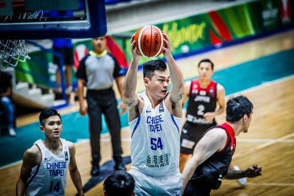 ▲亞洲盃,吳岱豪。(取自FIBA官網)