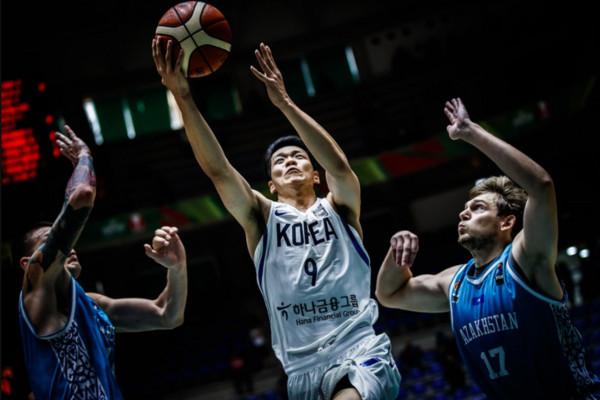 ▲亞洲盃,南韓金善亨。(圖/截自FIBA官網)