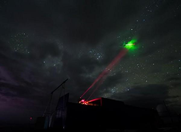 ▲▼中國衛星「墨子號」進行量子隱形傳態實驗。(圖/翻攝自《新華社》)