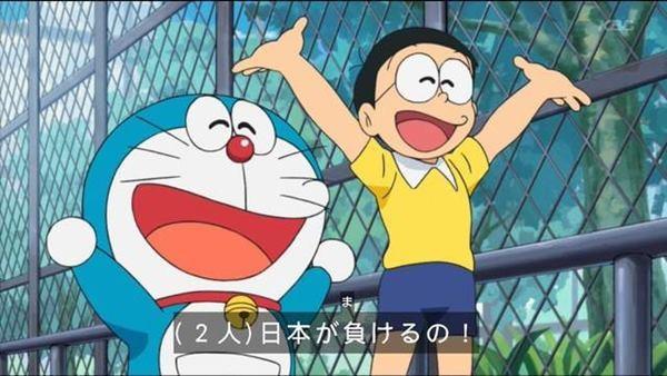 「反正日本會戰敗阿!」哆啦A夢反戰橋段被日噓爆:這能開玩笑?(翻攝自2CH/哆啦A夢動畫)