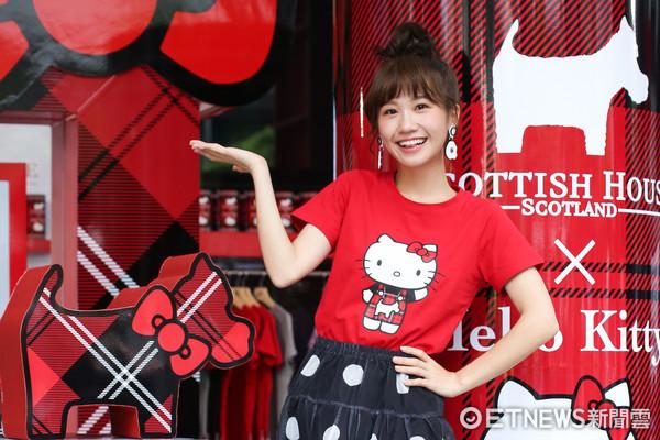 ▲▼Lulu黃路梓茵出席Hello Kitty聯名活動。(圖/記者周宸亘攝)