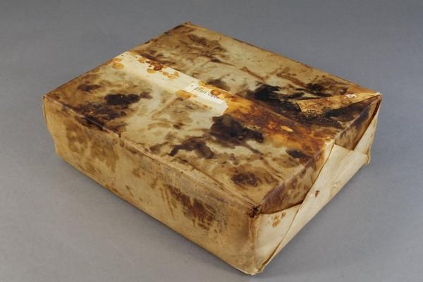 ▲▼保存完好的水果蛋糕。(圖/翻攝自Antarctic Heritage Trust粉絲專頁)