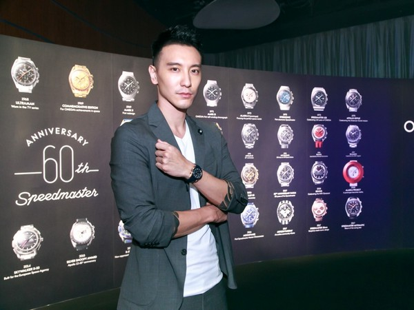 ▲王陽明出席OMEGA「登月錶」60周年活動(圖/品牌提供)