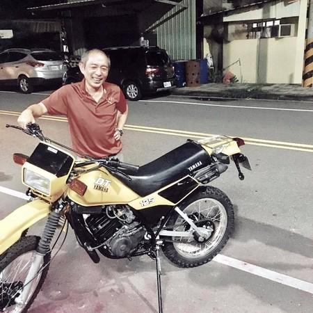 嘎嫂二伯買回10年前被偷的摩托車。(圖/翻攝自嘎嫂二伯人妻日記臉書)
