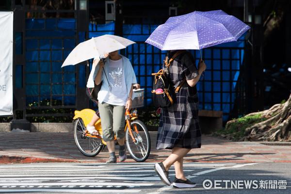 ▲▼夏日,遮陽,防曬,帽子,雨傘,太陽眼鏡。(圖/記者季相儒攝)