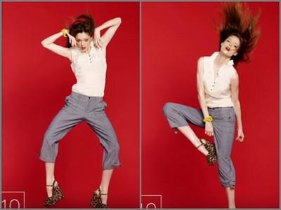 時尚模特兒「30秒跳19下」 網友大讚:攝影師老江湖