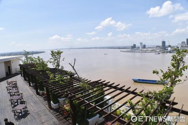 ▲柬埔寨金邊聖卡酒店。(圖/記者陳涵茵攝)