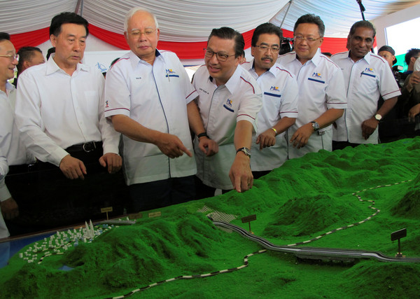 ▲▼馬來西亞和中國合建東海岸鐵路。(圖/路透社)
