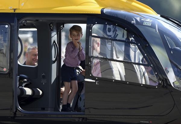 ▲▼喬治王子上月22日才剛滿4歲。(圖/達志影像/美聯社)