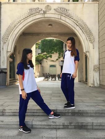 ▲跆拳道姐妹陳湘婷、陳以瑄        。(圖/陳以瑄提供)