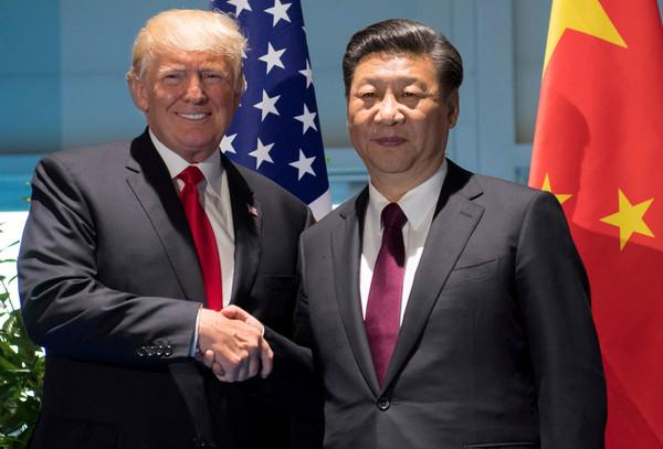 ▲美國總統川普(Donald Trump)與中國國家主席習近平。(圖/路透社)
