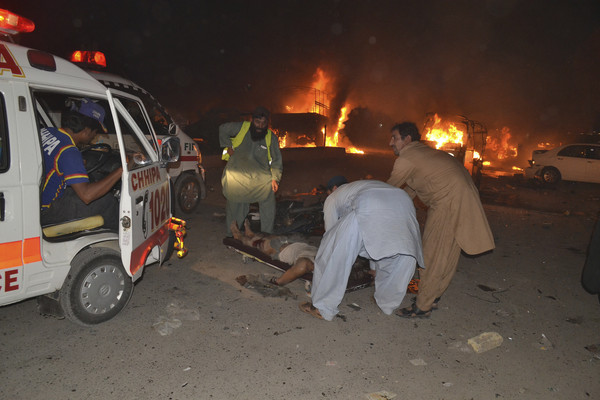 ▲▼巴基斯坦西南部俾路支省(Balochistan)首府奎達市(Quetta)恐攻。(圖/達志影像/美聯社)