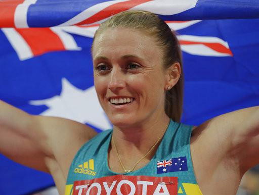 澳洲跨欄女將皮爾森(Sally Pearson)(圖/達志影像/美聯社)