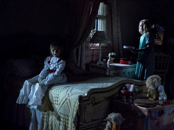 《安娜貝爾:造孽》。(圖/《安娜貝爾:造孽》劇照)