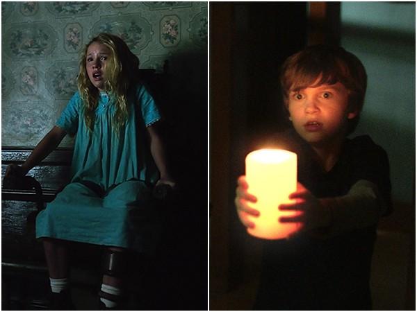 《安娜貝爾:造孽》。(圖/《安娜貝爾:造孽》、《鬼關燈》劇照)