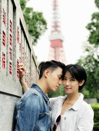 ▲▼陳楚河、賴雅妍。(圖/翻攝自《完全娛樂》臉書)